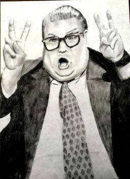 Chris Farley...I'm not the norm by Fire-Redhead