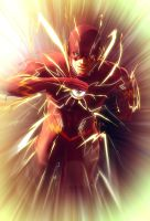 The Scarlet Speedster by Barbeanicolas