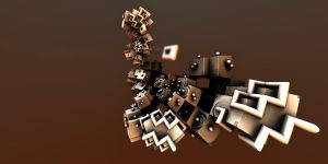 Mandelbulb 3D Wallpaper by nic022