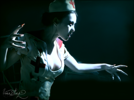 Zombie Nurse 3 by ViannZhang