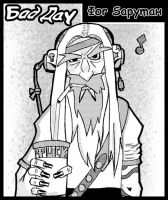 bad day for Saruman by Okina-tyan