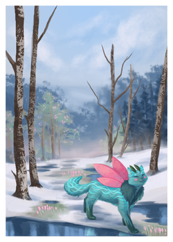 [Comm] The First Day of Spring by Arquerite