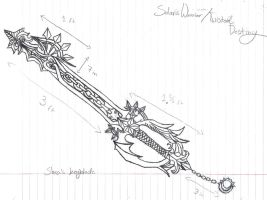 Shea's keyblade by LiberatedPuppeteer