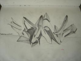 3D Sketch by BezOne
