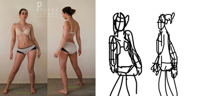 Character Design: Gesture Drawing by noobish-girl
