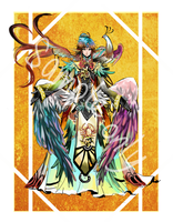 Tarot Card: The Sun Open for Auction (CLOSED) by shrimpHEBY
