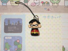 Mini Young Justice Robin Charm by kneazlegurl125