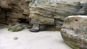 Whitby Rocks (2) by PaulineMoss