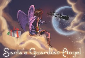 (Pit) Santa's Guardian Angel by fontainne