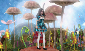 Follow me to Wonderland by tombraider4ever