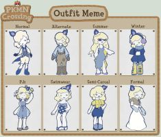Lucia outfit meme by minorking