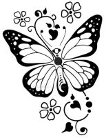Butterfly - SVG by hassified