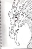 Dragonology sketch by Toxic1776