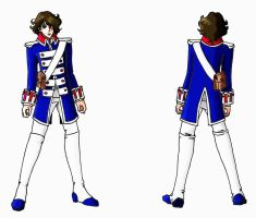 Andre - Blue Uniform by SylverTrinity