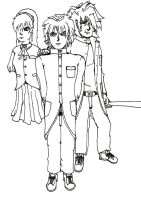 Manga Chara: Unfinished Group by Sabdoor