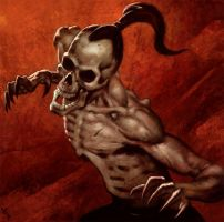 Gerald Brom Study 5 Day #138 by AngelGanev