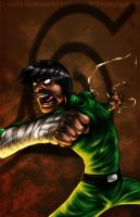 Rock Lee Collabo cant stop... by Darkness33