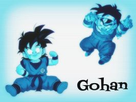 Little Gohan by LittleJohan