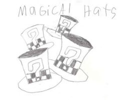 magical hats by inuyasha666hiei