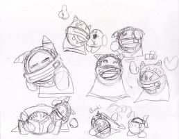 Magolor Sketches by locomotive111