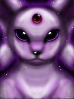 Espeon on iPad by Neon-Juma