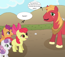 Cutie Mark Crusaders: It's a trap by Super-Zombie