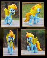 My Little Pony Mini Spitfire Custom by kaizerin