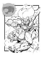 Thundercats ATTACK inks by gz12wk