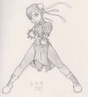 done did chun li by G4MM43T4