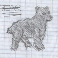 a bear by SEBASTIEN11