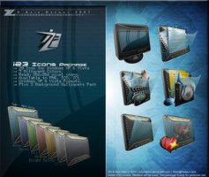iZ3 Icons Package by DeskModders