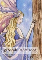 Night Fae - ACEO by NicoleCadet