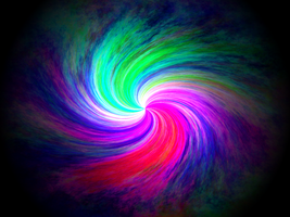 Coloured Swirls by Kreuger