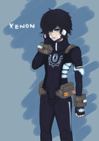 Xenon Maplestory by Mishhe-KHT