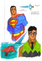 Superman Sketches by Jochimus