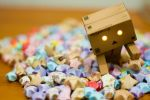 danbo series : touch by rachelmyrna