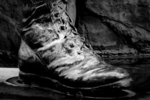 Boot of the Soldier by aesthetigenesis