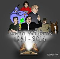 RIP Robin Willams by Playstation-Jedi