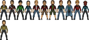 Star Trek Castaways WIP by SpiderTrekfan616