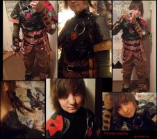 HTTYD2 -Hiccup Cosplay by Hukkis
