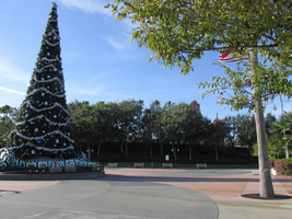 christmas Tree WDW Hollywood Studios 1 by WDWParksGal-Stock