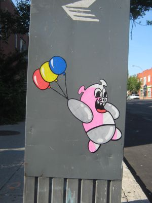 Monty's ballons by the-street-improver