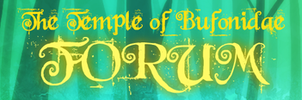 Temple of Bufonidae Banner Contest Entry by KicsterAsh