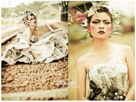 origami with paperdress by dawila