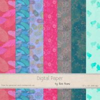 FREE March Paper by Rene Blooms by SunnyFunLane