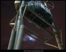 Electric Moon by mentallydeceased