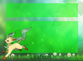 Leafeon Journal Skin by Toxic-Talon