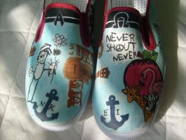 NeverShoutNever shoes by AliRenae