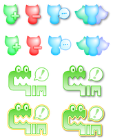 GIM icons by KupoGames
