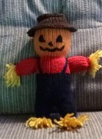 Scarecrow doll by eightcrows